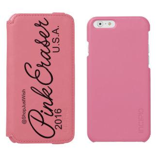 Capa de telefone coral/cor-de-rosa iphone6 da capa carteira incipio watson™ para iPhone 6