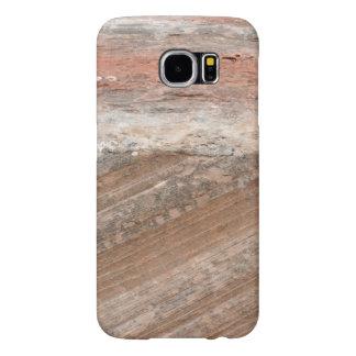 Capa Para Samsung Galaxy S6 Capa de telefone Cruz-Colocada da foto do arenito