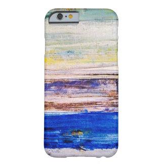 Capa de telefone da arte abstracta capa barely there para iPhone 6