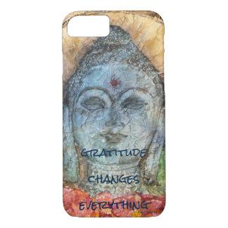 Capa de telefone da arte da aguarela de Buddha do