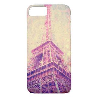 Capa de telefone da arte da torre Eiffel