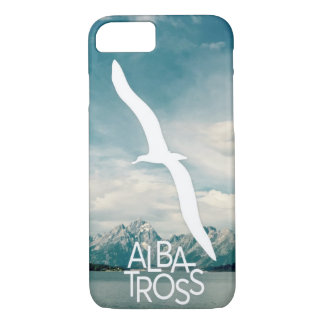 Capa de telefone da arte do albatroz