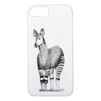 Capa de telefone da arte do Okapi