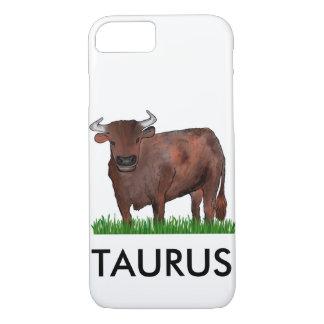 Capa de telefone da arte do zodíaco do Taurus