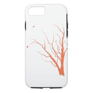 Capa de telefone da árvore do outono