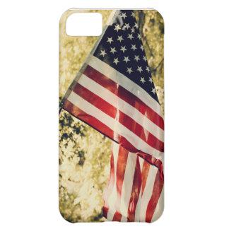 Capa de telefone da bandeira americana