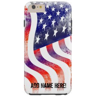 Capa de telefone da bandeira americana do chique