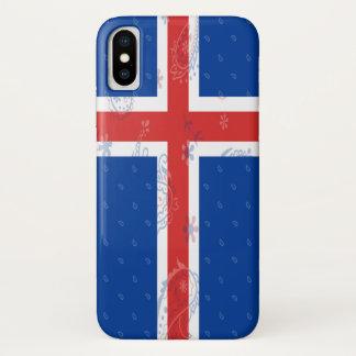 Capa de telefone da bandeira de Islândia
