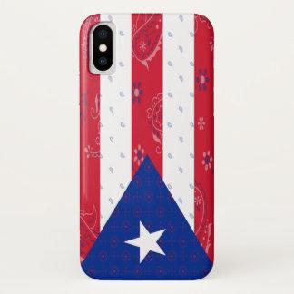 Capa de telefone da bandeira de Puerto Rico