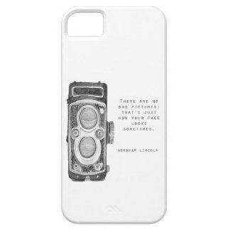 Capa de telefone da câmera do vintage