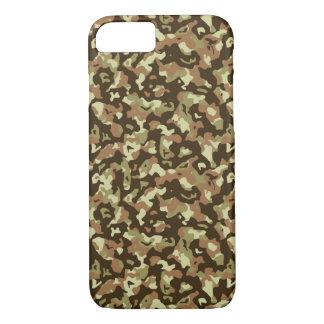 Capa de telefone da camuflagem de Brown
