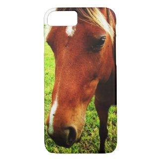 Capa de telefone da cara do cavalo