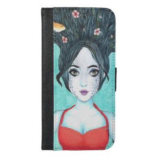 Capa de telefone da carteira de Koi