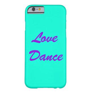 Capa de telefone da dança do amor