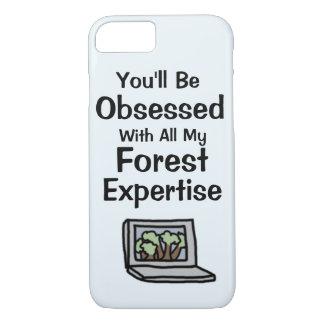 Capa de telefone da experiência da floresta