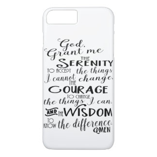 Capa de telefone da fé da oração da serenidade