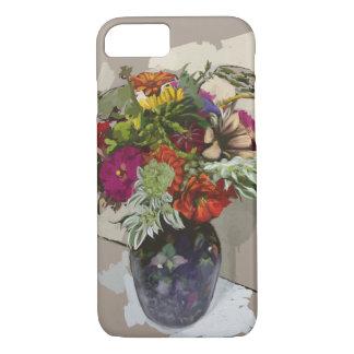 Capa de telefone da flor
