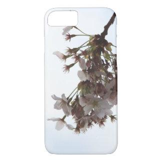 Capa de telefone da flor de cerejeira