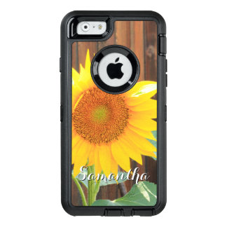 Capa de telefone da flor do girassol
