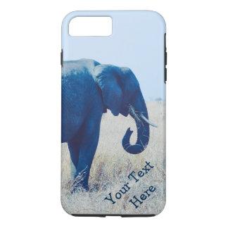 Capa de telefone da foto do elefante  --