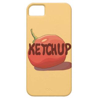 Capa de telefone da ketchup