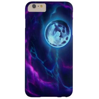 Capa de telefone da lua e da nebulosa