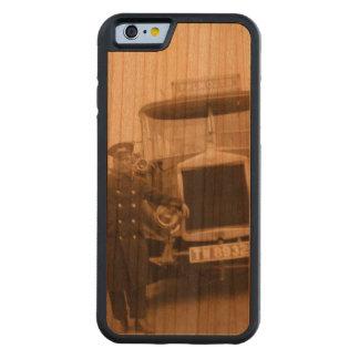 Capa de telefone da madeira de Falmouth do vintage