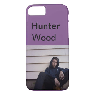 Capa de telefone da madeira do caçador