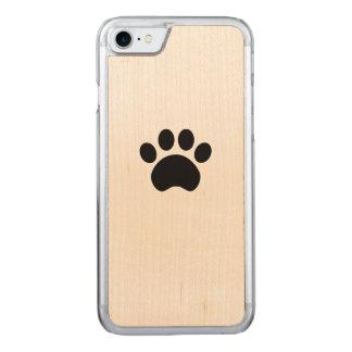 Capa de telefone da madeira do iPhone 7 do