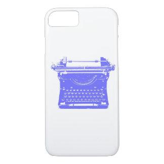Capa de telefone da máquina de escrever