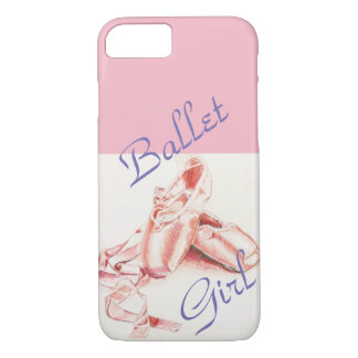 "capa de telefone da menina balé"" do caso do iPhone"