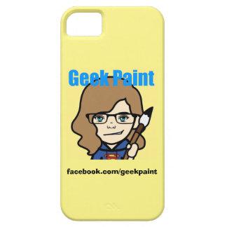 Capa de telefone da pintura do geek capa para iPhone 5