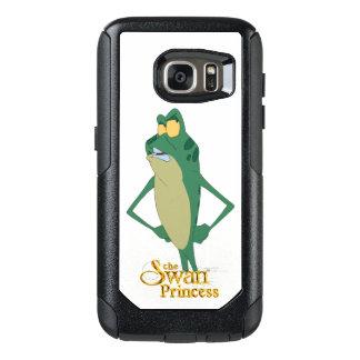 Capa de telefone da princesa Samsung da cisne