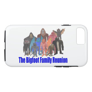 Capa de telefone da reunião de família de Bigfoot