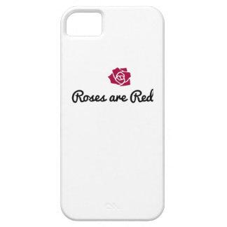 Capa de telefone da rosa vermelha