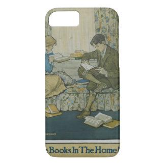 Capa de telefone da semana de livro de 1924