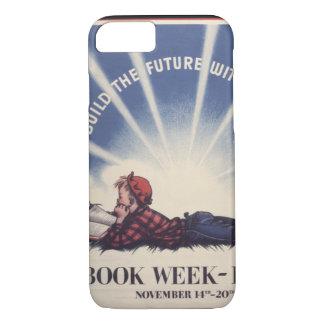 Capa de telefone da semana de livro de 1943