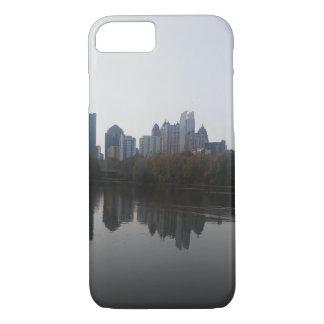Capa de telefone da skyline de Atlanta