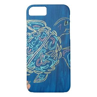 Capa de telefone da tartaruga de mar