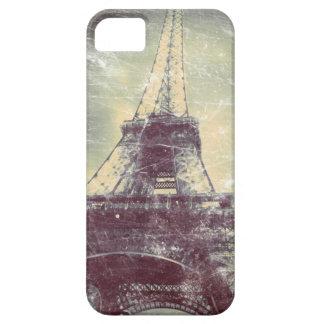 Capa de telefone da torre Eiffel, olhar do vintage Capa Barely There Para iPhone 5