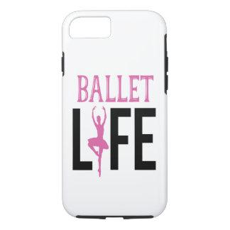 Capa de telefone da vida do balé