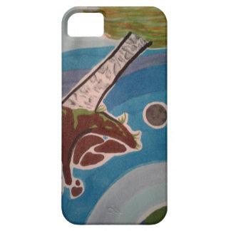 Capa de telefone das árvores do espaço