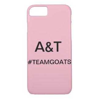 Capa de telefone das cabras da equipe de A&T