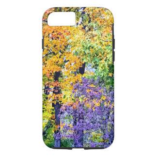 Capa de telefone das folhas de outono