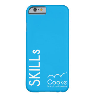 Capa de telefone das habilidades de Cooke