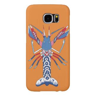 Capa de telefone das lagostas - arte aborígene