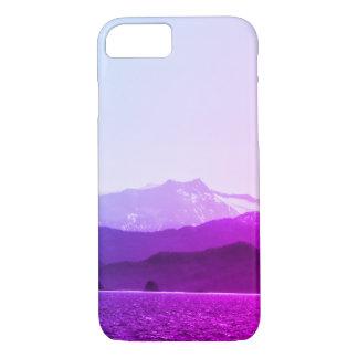 Capa de telefone das montanhas roxas