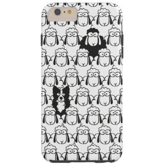 Capa de telefone das ovelhas negras