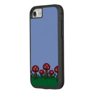 capa de telefone de 8 bits do jardim do Toadstool