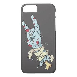 Capa de telefone de balanço da mão do zombi